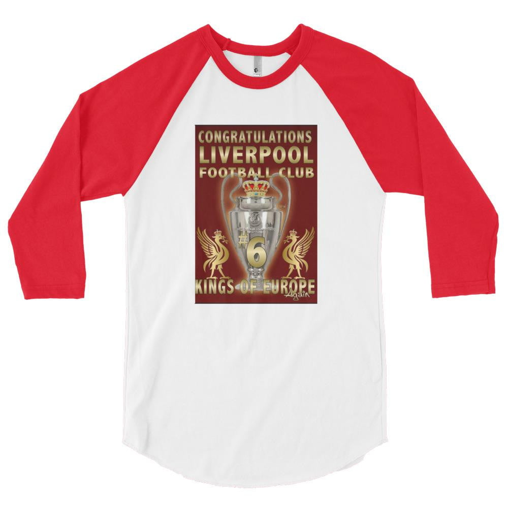 Liverpool 2019 Trophy 3/4 sleeve raglan shirt
