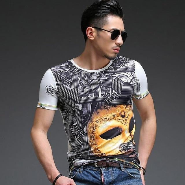 3d Dragon Totem New Print T-shirt