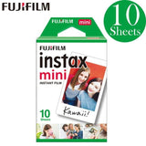 Fujifilm White Film Photo Papers Instax Mini Cameras (20-100sheets)