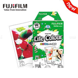 Color Photo Paper for Fujifilm Instax Mini Instant Cameras (10pcs)