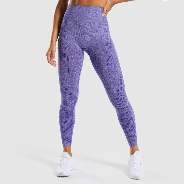Seamless High-waist Spandex Yoga Pants