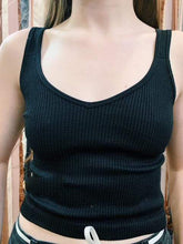 Load image into Gallery viewer, Basement Marketplace Basics Perfect Ribbed Tank Top
