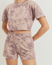 Load image into Gallery viewer, Dreamer Tie Dye Lounge Set - Shorts