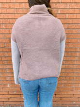 Load image into Gallery viewer, Miracle Fashion Sweaters Cameron Color Block Sweater - Neutral
