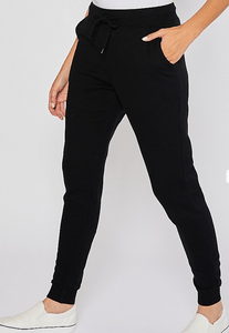 Sadie Sweat Set - Black Jogger