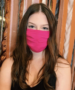 ZENANA Other Accessories Hot Pink Pleated Face Covering