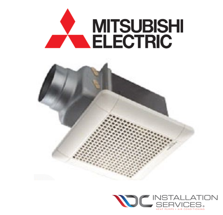 Mitsubishi Vd 15z Bathroom Exhaust Ventilation Fan Including