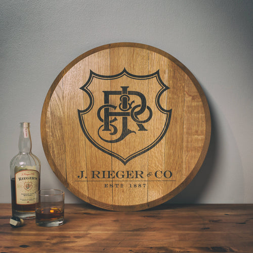 Branded Barrel Head