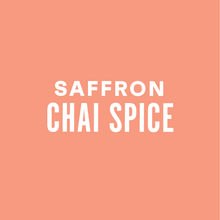 Load image into Gallery viewer, Saffron Chai Spice - Multi Serve (8-pack)