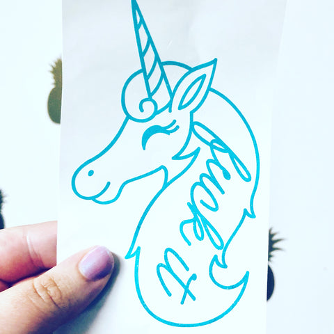 Fuck it unicorn Decal