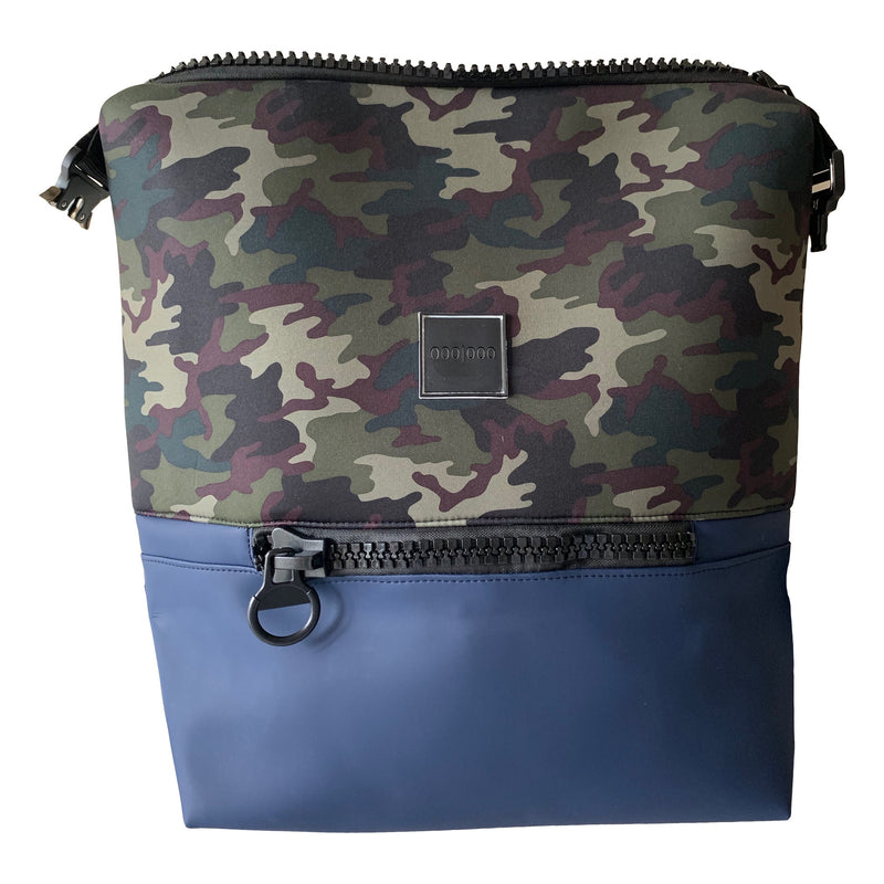 big camo print backpack men