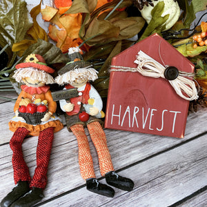 Harvest Fall mini house | Rae Dunn Inspired Small House Wood Sign | Home  sign | Mini wood sign | Welcome | Tiered Tray Decor
