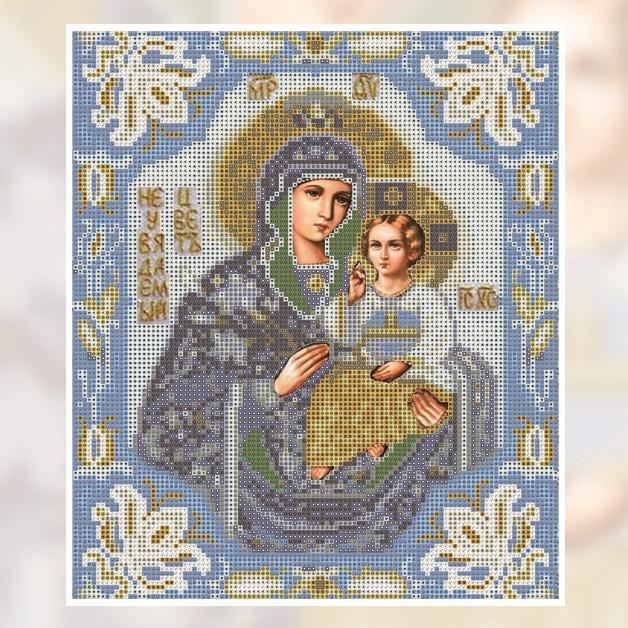 100% DIY 5d Diamond Painting Cross Stitch Kit - Religious Mosaics (Blessed Mother Mary and Jesus) - The Oasis Lab