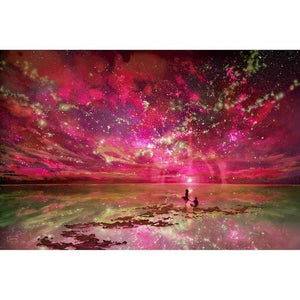 100% DIY 5d Diamond Painting Cross Stitch Kit - Sky Mosaic - The Oasis Lab