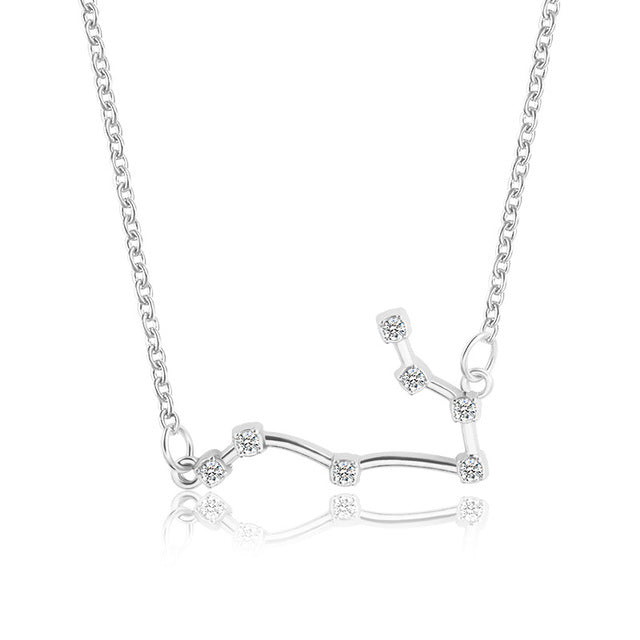 New Zodiac Constellation Necklace - The Oasis Lab