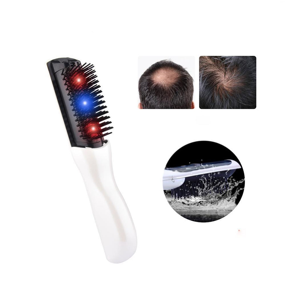 Professional Hair Growth Laser Comb - Advanced Hair Growth Treatment For Women & Men - The Oasis Lab