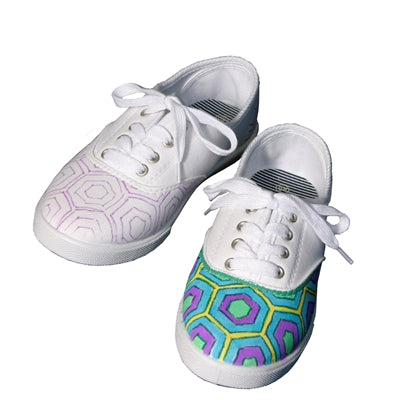 Hexagon Patterned Shoes