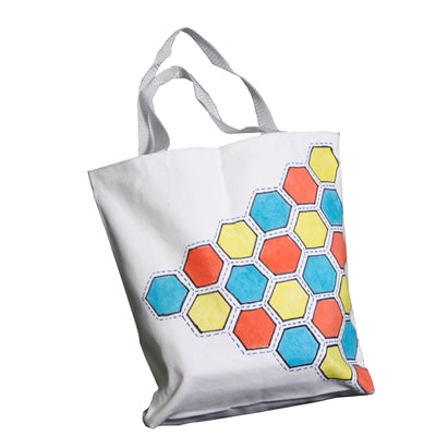 Hexagon Patterned Tote