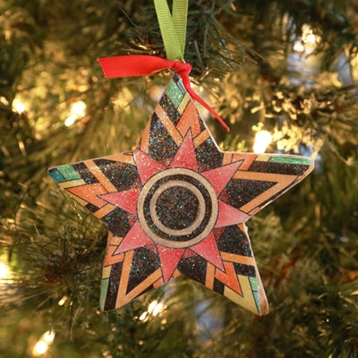Coloring Book Ornament