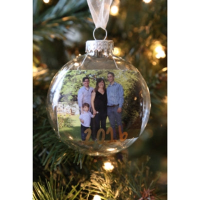 Easy Photo Ornament