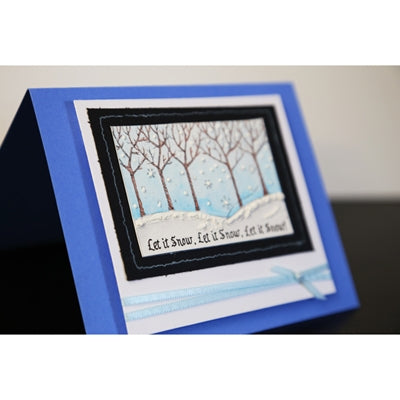 Let It Snow Handmade Card