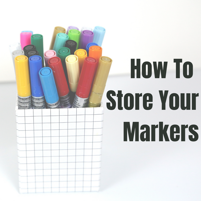 How To Store Your Markers