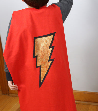 No-Sew Super Hero Cape