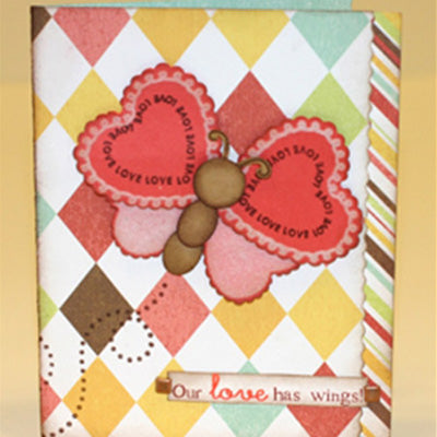 Our Love Has Wings Card Project