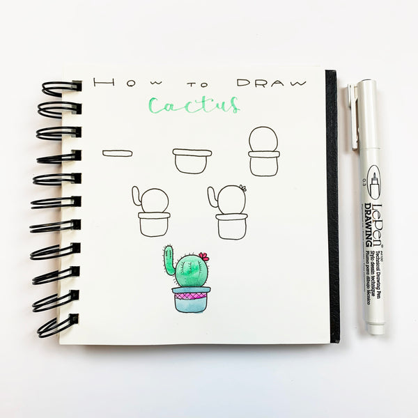 How to Doodle a Cactus
