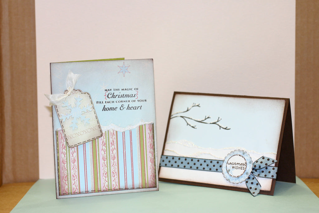Warmest Wishes Winter Card Tutorial