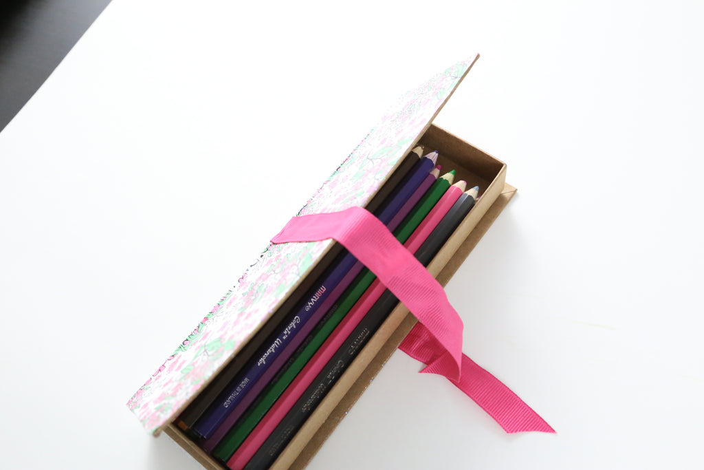 DIY Coloring Page Pencil Organizer
