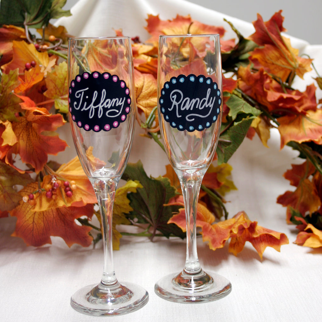 Personalized Wine Glass DIY