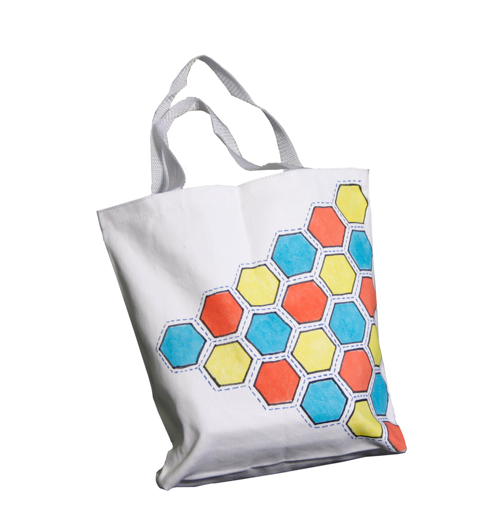 Hexagon Pattern Tote Tutorial