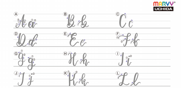 Free Lettering Practice Sheets