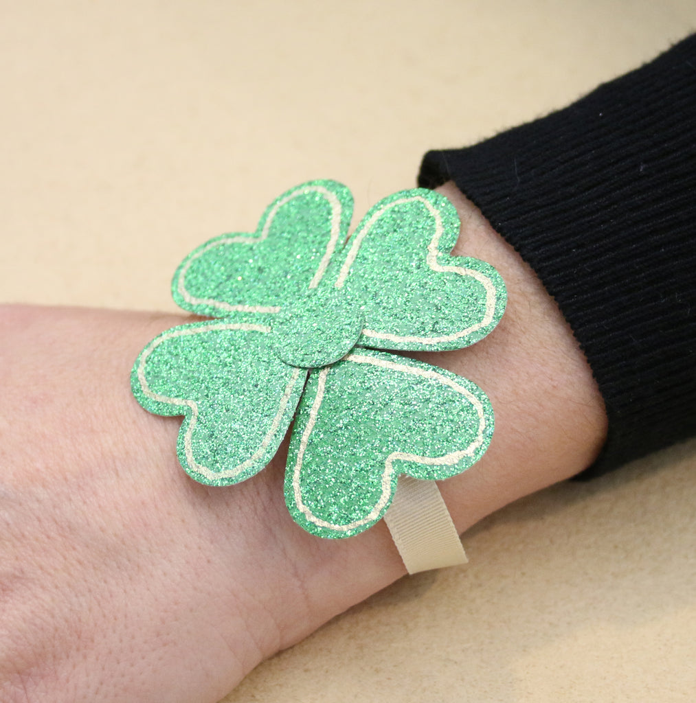 Shamrock Wrist Wrap Project