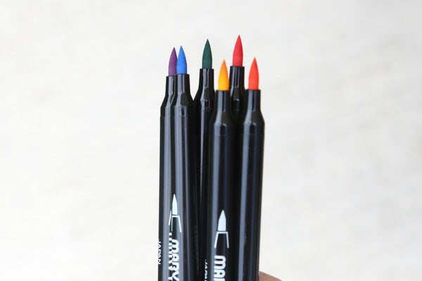 Brush Markers - Marker Guide