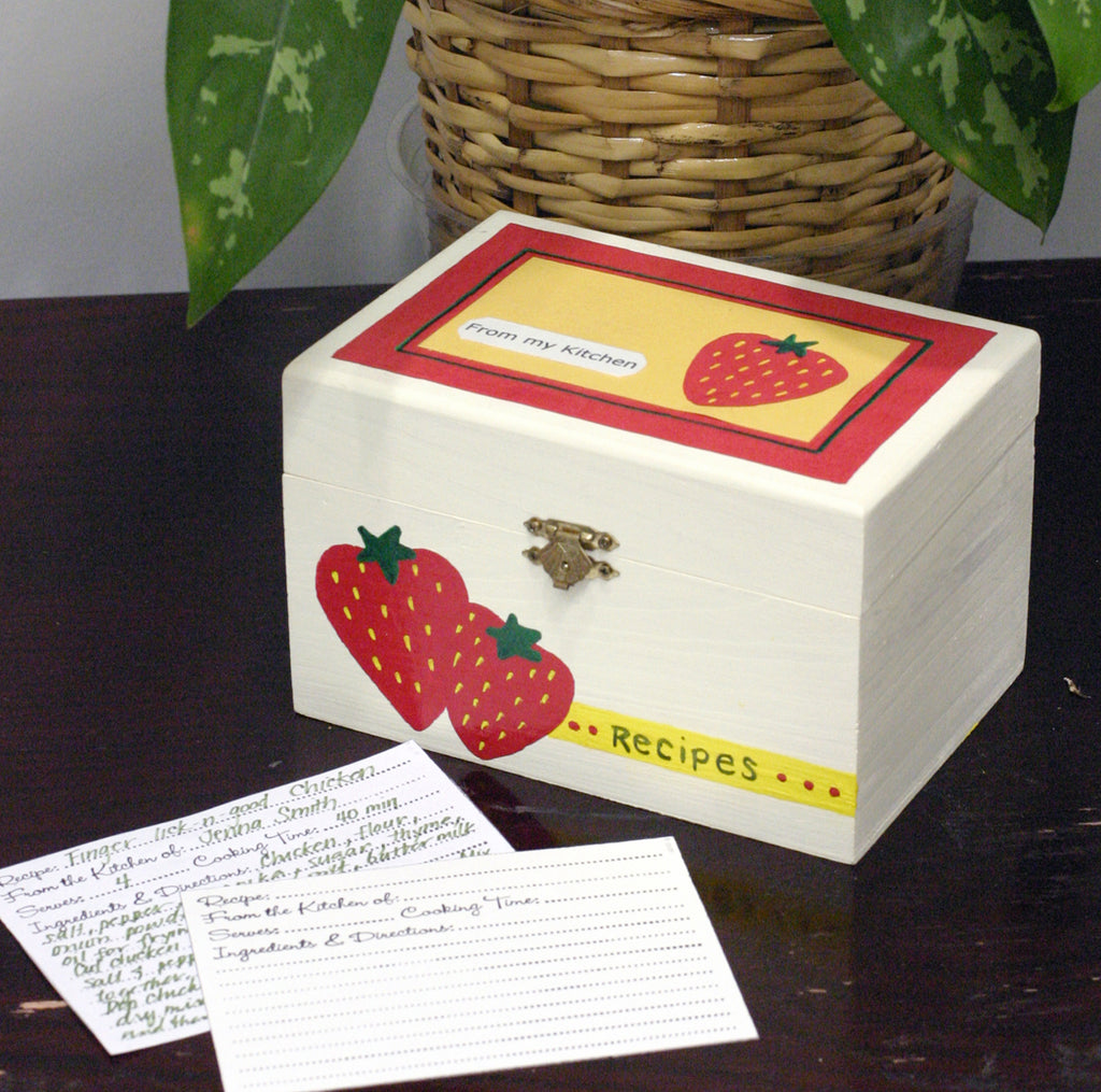 Recipe Box Project