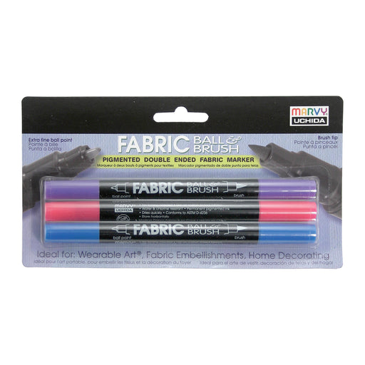 FABRIC BALL AND BRUSH - Marvy Uchida
