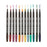 BRUSH MARKER - 12 PIECE VICTORIAN SET C