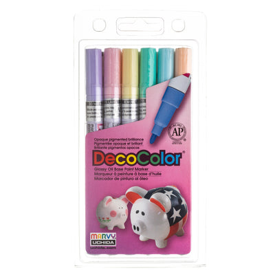 DECOCOLOR® PAINT MARKER FINE TIP SET B