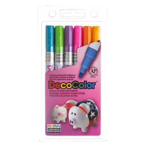 DECOCOLOR® PAINT MARKER FINE SET C