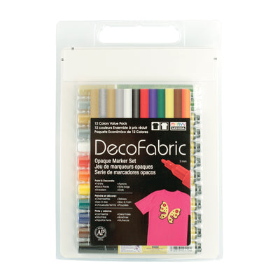DECOFABRIC 12 COLOR SET