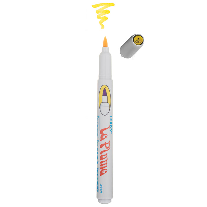 LE PLUME PERMANENT MARKERS - YELLOWS