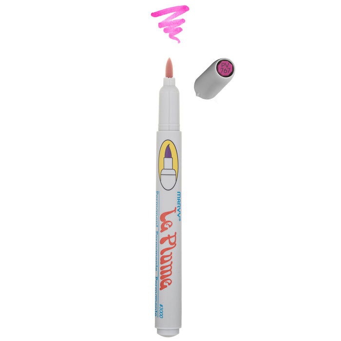 LE PLUME PERMANENT MARKERS PINK VIOLET