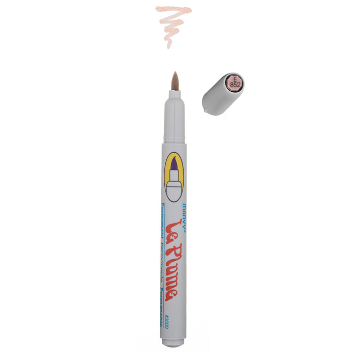 LE PLUME PERMANENT MARKERS - BROWNS