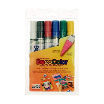 DECOCOLOR® PAINT MARKER BROAD SETS - Marvy Uchida