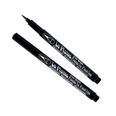LE PLUME PERMANENT FINE BRUSH MARKERS - Marvy Uchida