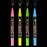 BISTRO CHALK MARKER EXTRA FINE POINT SET 4A