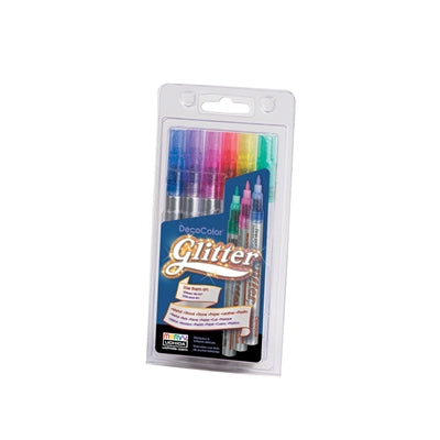 GLITTER DECOCOLOR® MARKER SET - Marvy Uchida