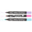 MARVY® FABRIC MARKER CHISEL TIP - FLUORESCENT SET